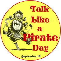 Arr! It's Talk Like A Pirate Day!