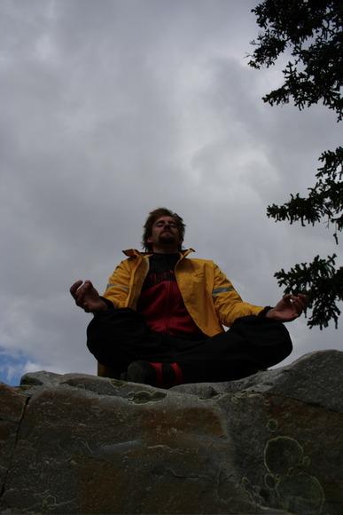 Ethan Meditating